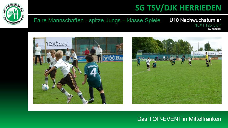 SG TSV/DJK HERRIEDEN Faire Mannschaften - spitze Jungs – klasse Spiele