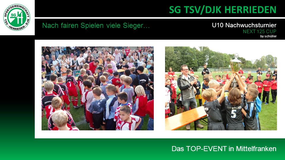 SG TSV/DJK HERRIEDEN Nach fairen Spielen viele Sieger…