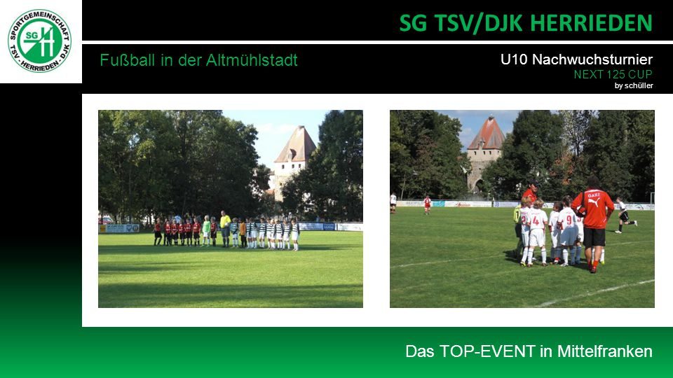 SG TSV/DJK HERRIEDEN Fußball in der Altmühlstadt