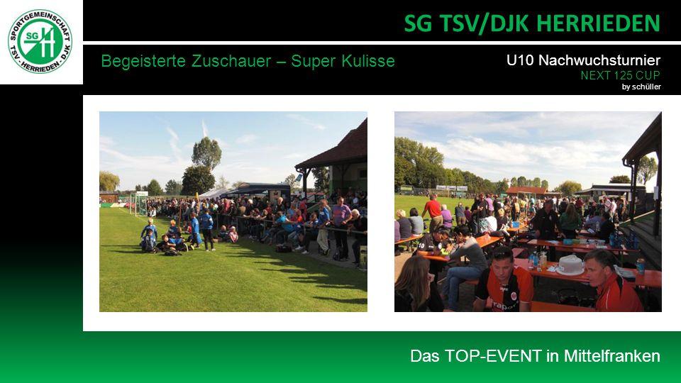 SG TSV/DJK HERRIEDEN Begeisterte Zuschauer – Super Kulisse