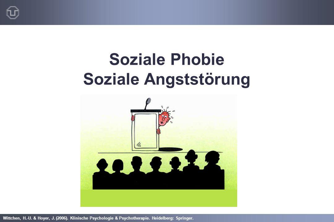 Soziale Phobie Soziale Angststörung