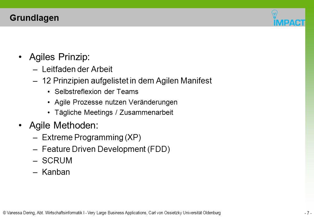 Agiles Prinzip: Agile Methoden: Grundlagen Leitfaden der Arbeit