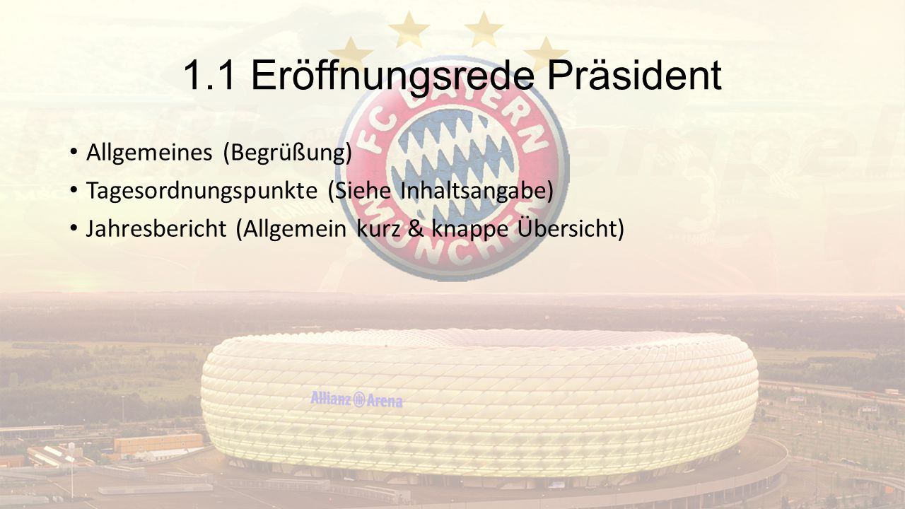 1.1 Eröffnungsrede Präsident