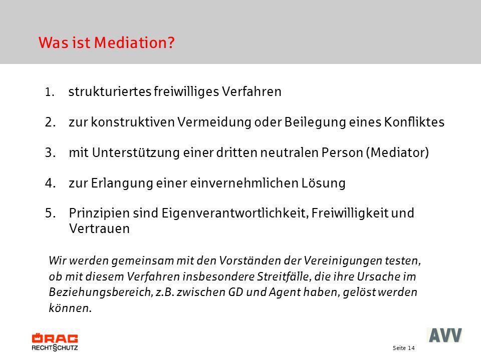 Was ist Mediation strukturiertes freiwilliges Verfahren. zur konstruktiven Vermeidung oder Beilegung eines Konfliktes.