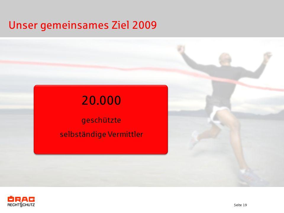 Unser gemeinsames Ziel 2009