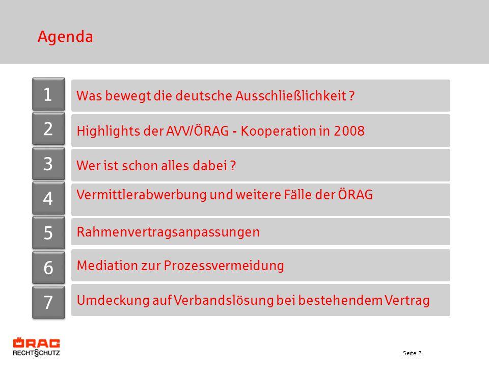 1 2 3 4 5 6 7 Agenda Was bewegt die deutsche Ausschließlichkeit