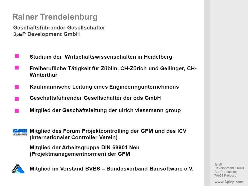 Rainer Trendelenburg Geschäftsführender Gesellschafter