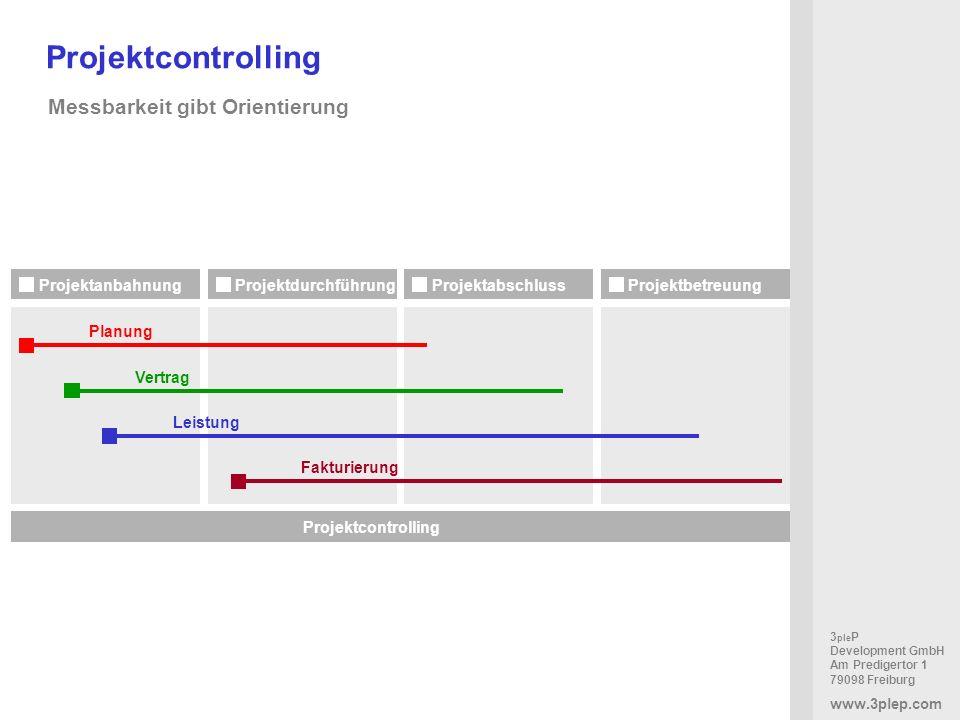 Projektcontrolling Messbarkeit gibt Orientierung Projektanbahnung
