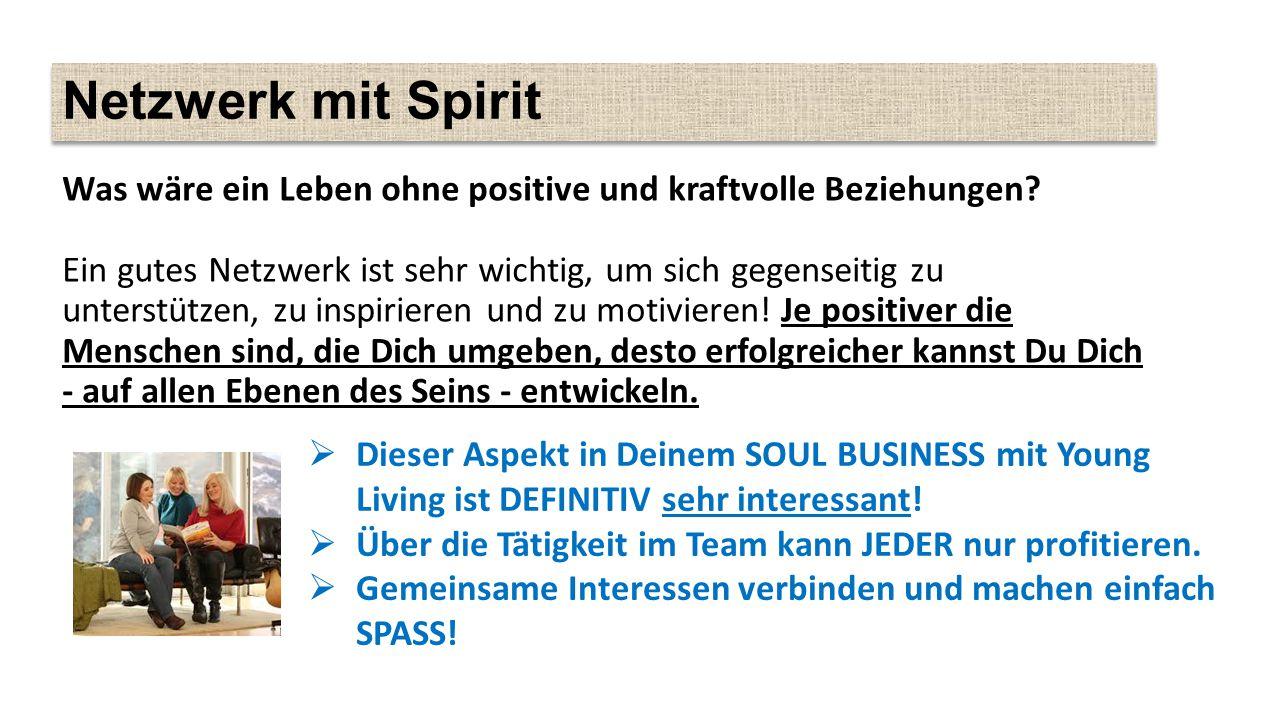 Netzwerk mit Spirit