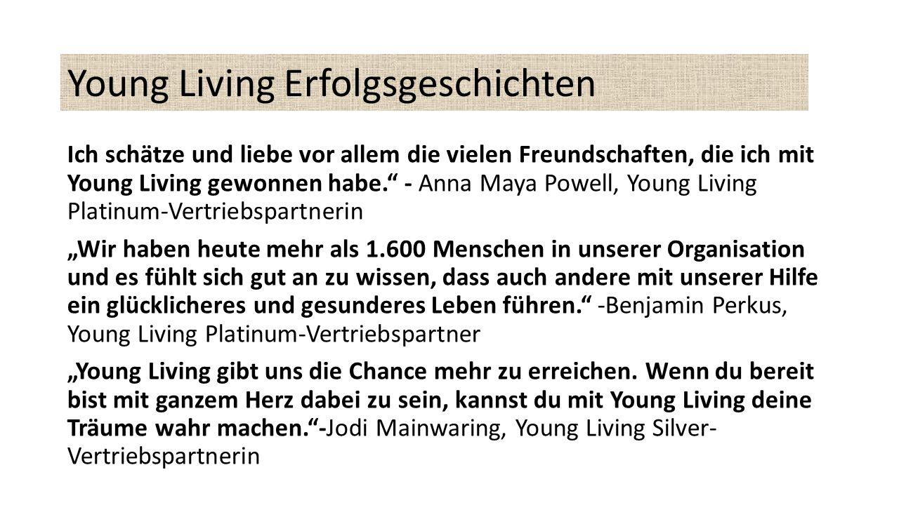 Young Living Erfolgsgeschichten