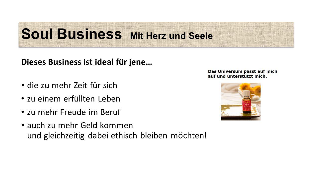 Soul Business Mit Herz und Seele