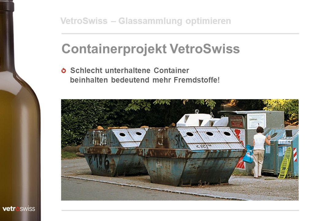 Containerprojekt VetroSwiss