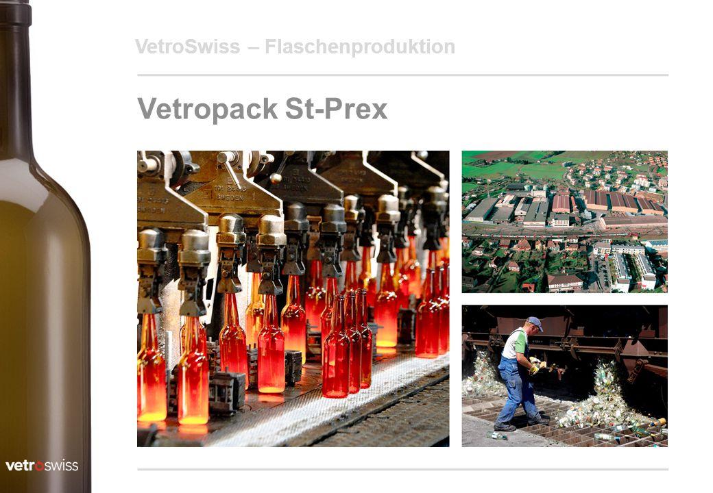 19.04.2017 VetroSwiss – Flaschenproduktion Vetropack St-Prex