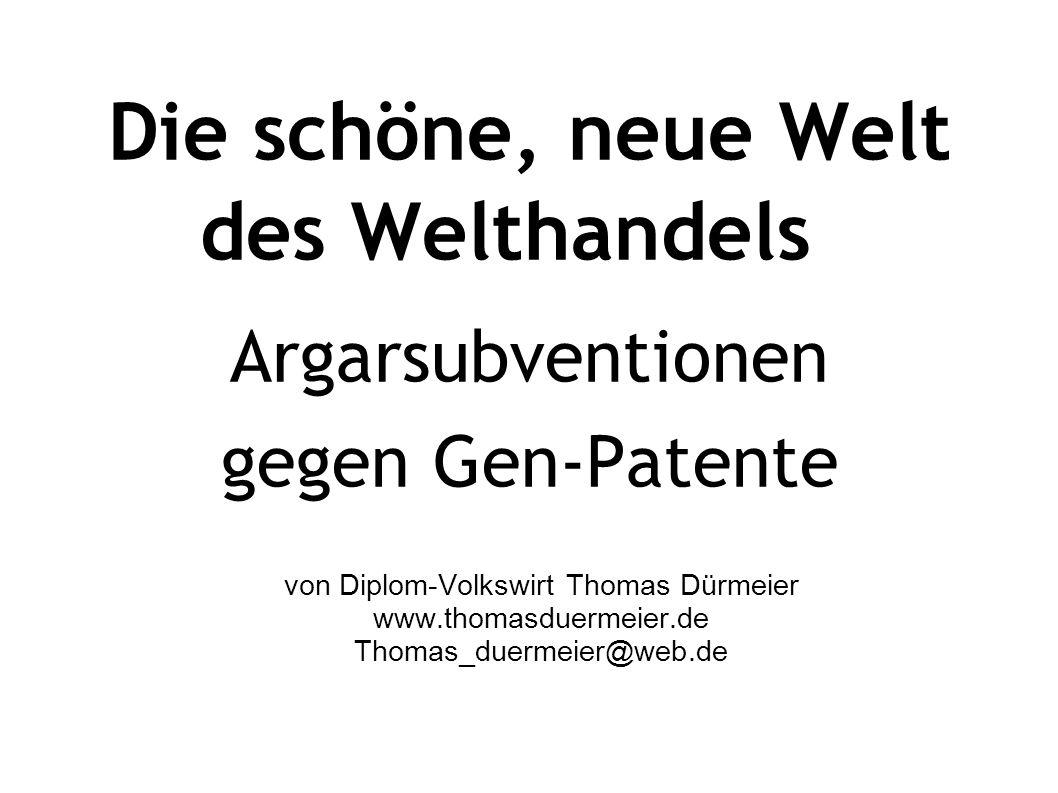 von Diplom-Volkswirt Thomas Dürmeier