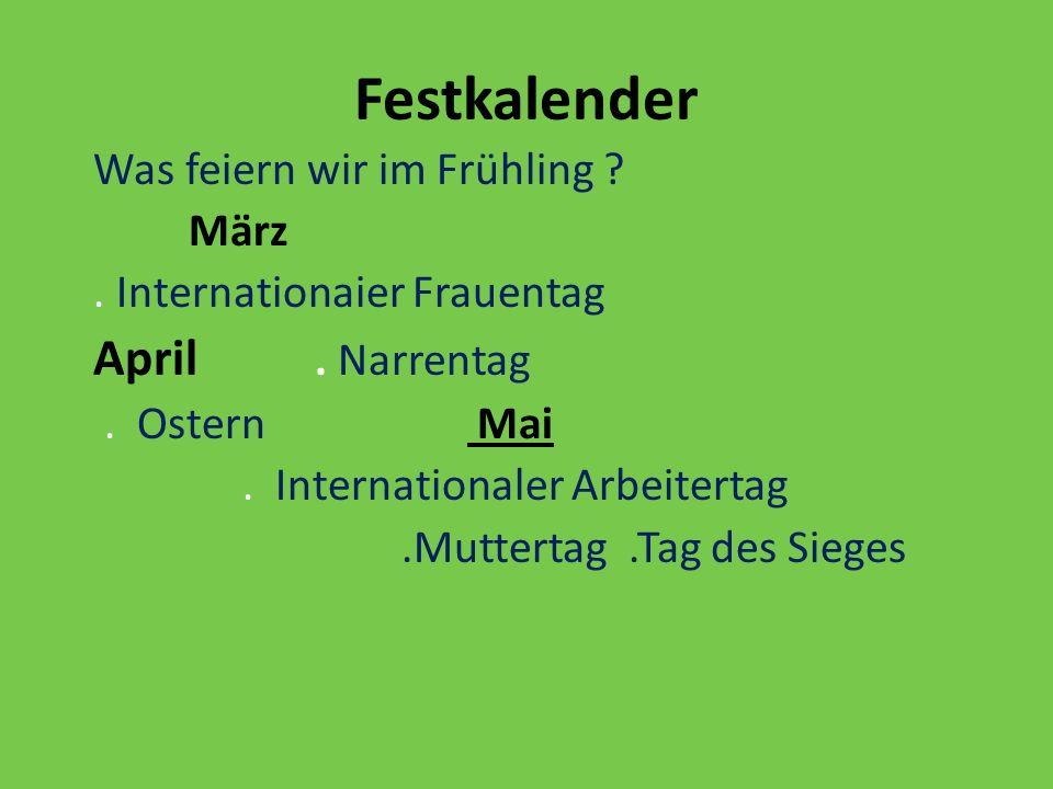 Festkalender