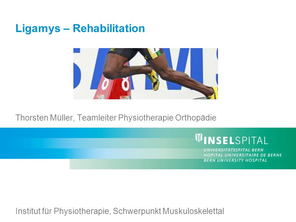 Ligamys – Rehabilitation