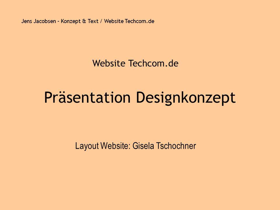 Präsentation Designkonzept
