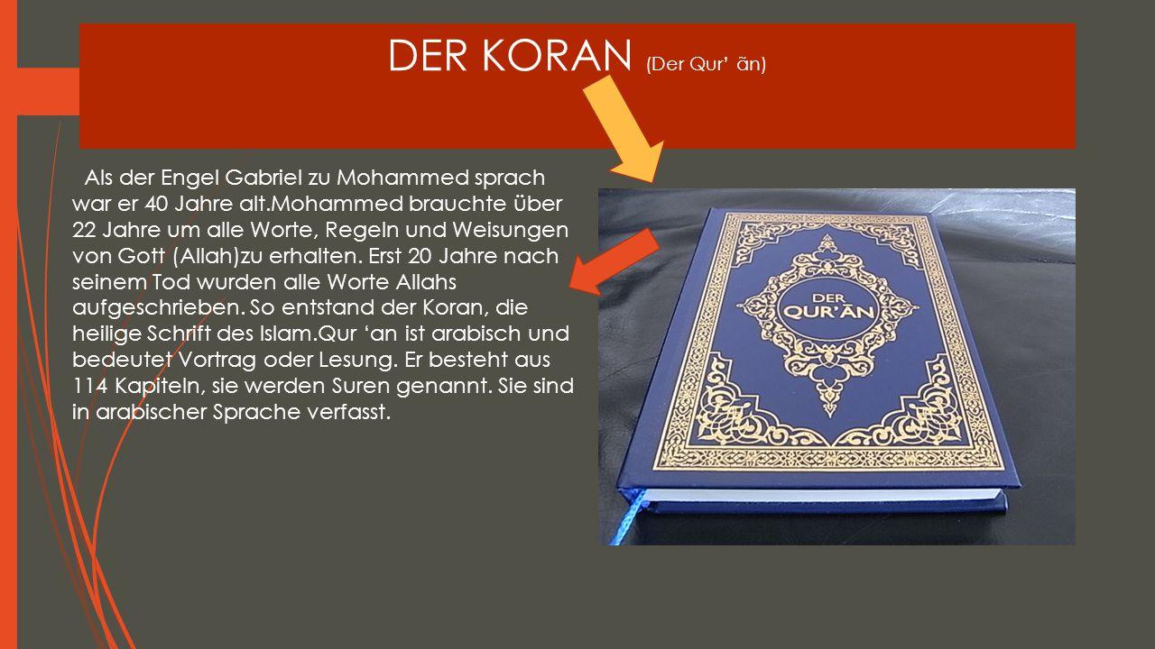 DER KORAN (Der Qur' ãn)