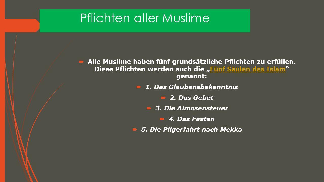Pflichten aller Muslime