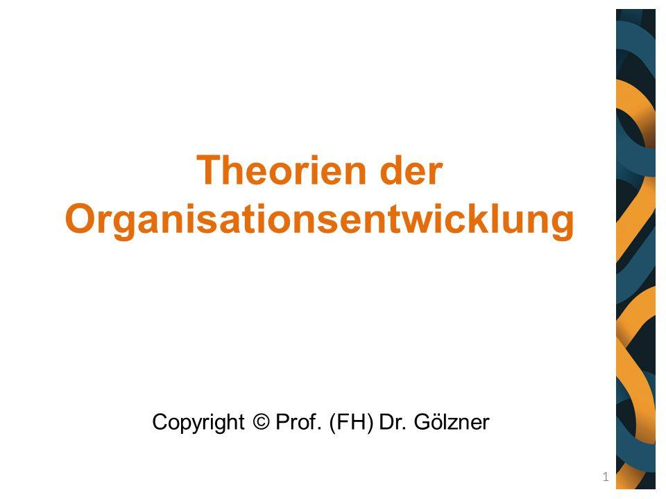 Theorien der Organisationsentwicklung