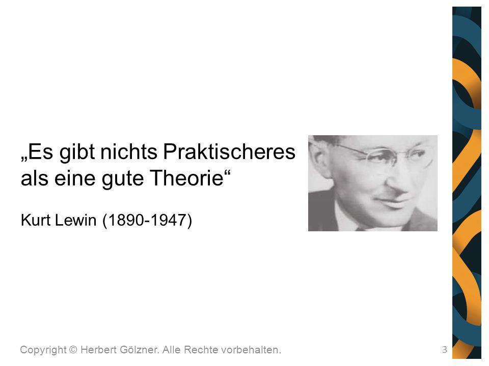 """""""Es gibt nichts Praktischeres als eine gute Theorie"""