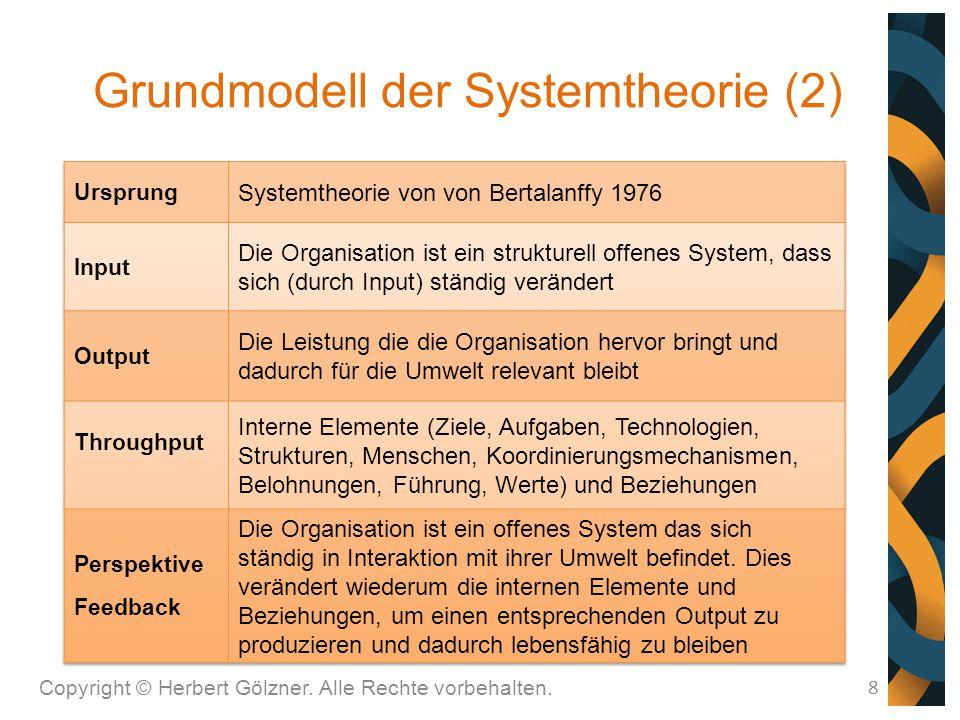 Grundmodell der Systemtheorie (2)