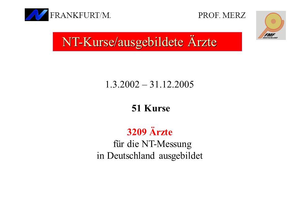 für die NT-Messung in Deutschland ausgebildet