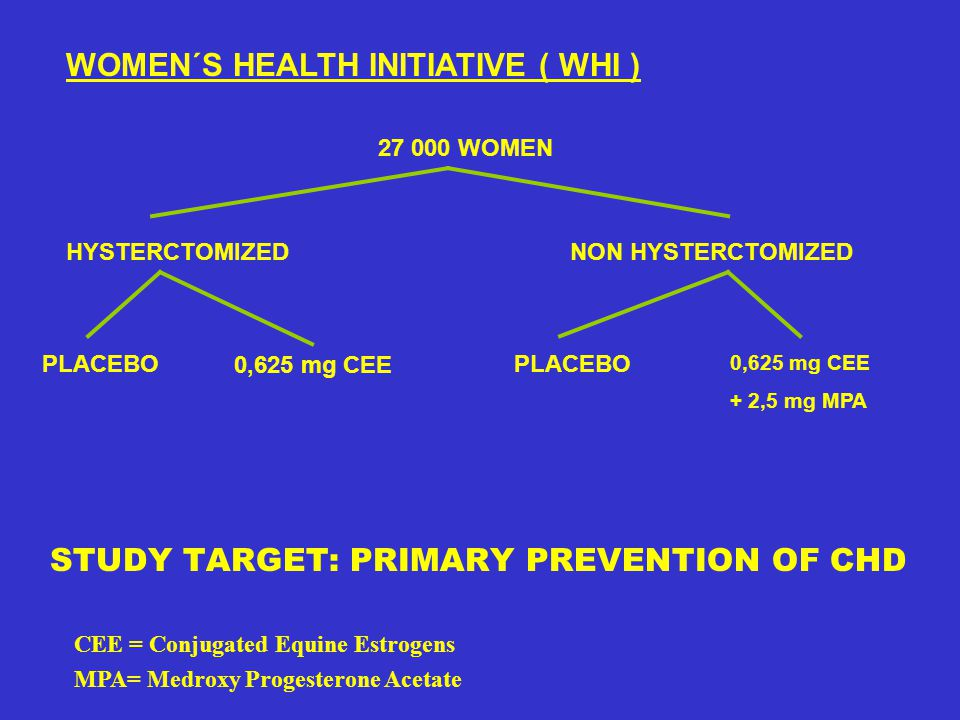 WOMEN´S HEALTH INITIATIVE ( WHI )