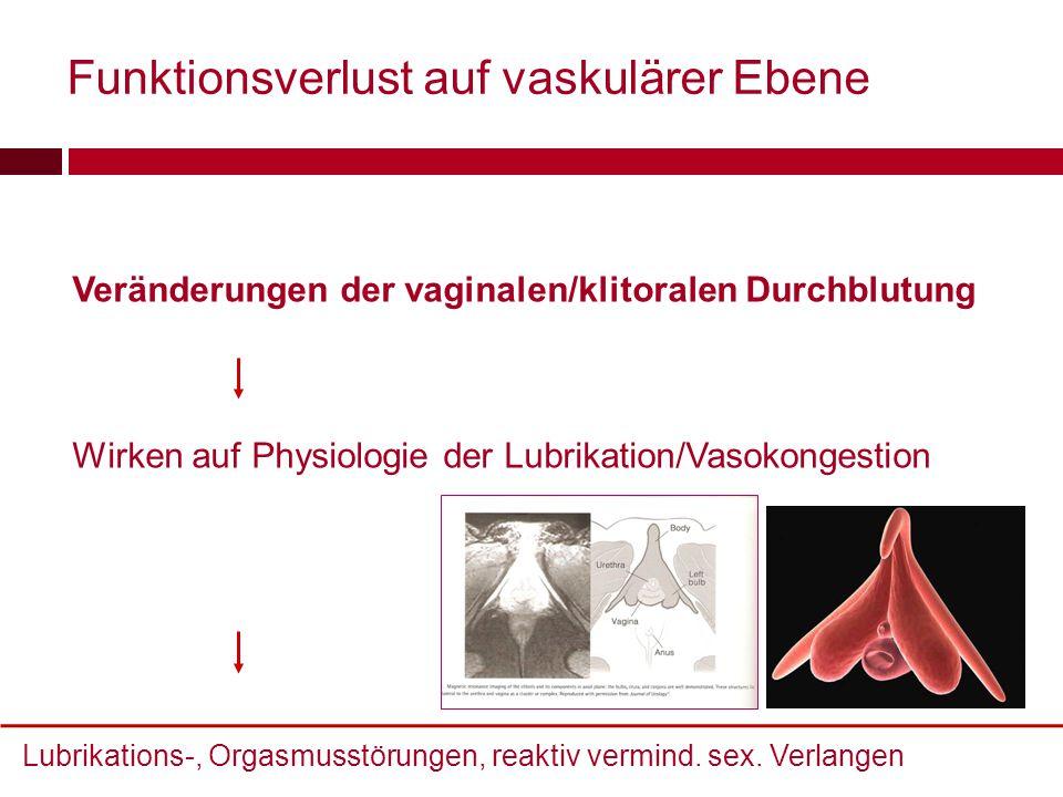 Funktionsverlust auf vaskulärer Ebene