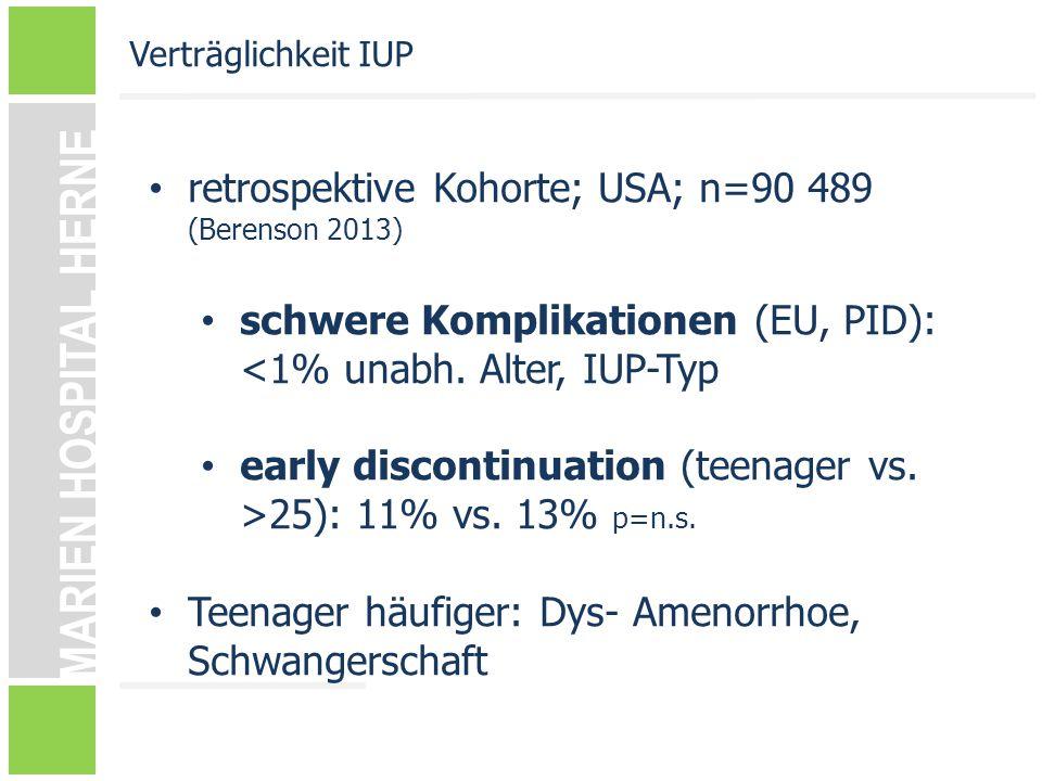 retrospektive Kohorte; USA; n=90 489 (Berenson 2013)