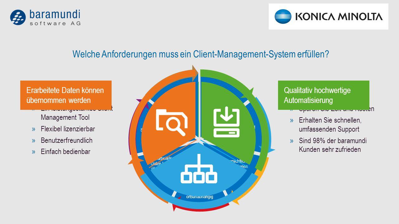 Welche Anforderungen muss ein Client-Management-System erfüllen