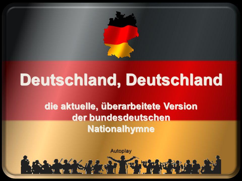 Deutschland, Deutschland die aktuelle, überarbeitete Version