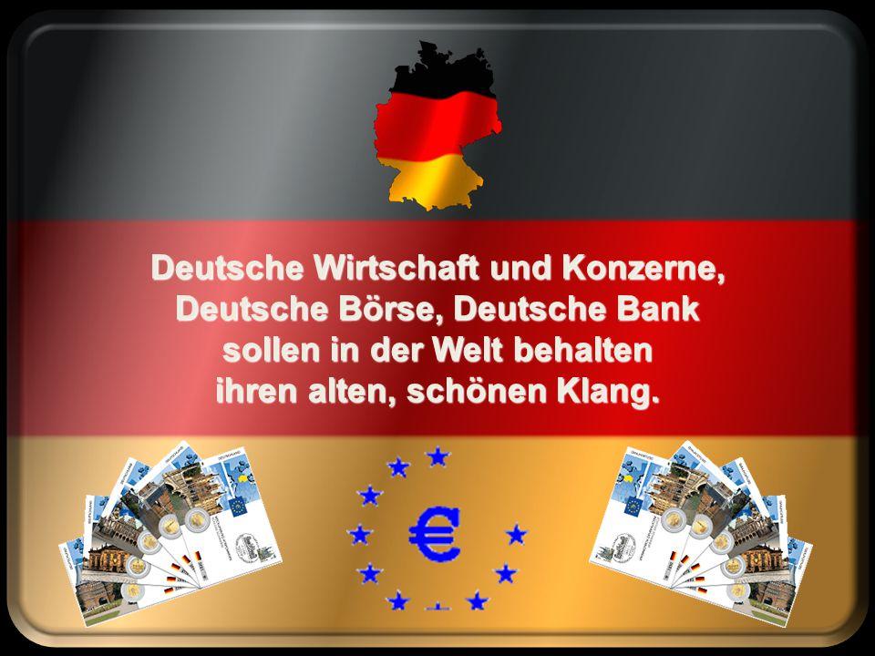 Deutsche Wirtschaft und Konzerne, Deutsche Börse, Deutsche Bank