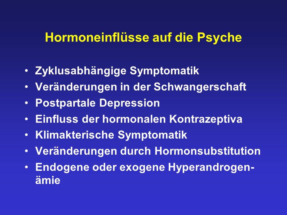 Hormoneinflüsse auf die Psyche