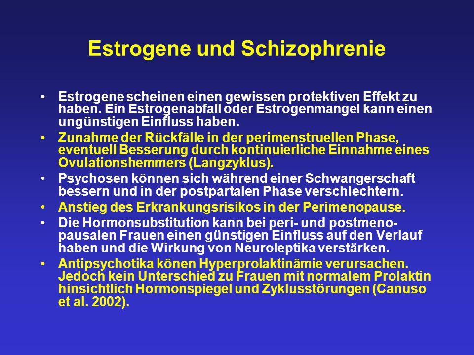 Estrogene und Schizophrenie