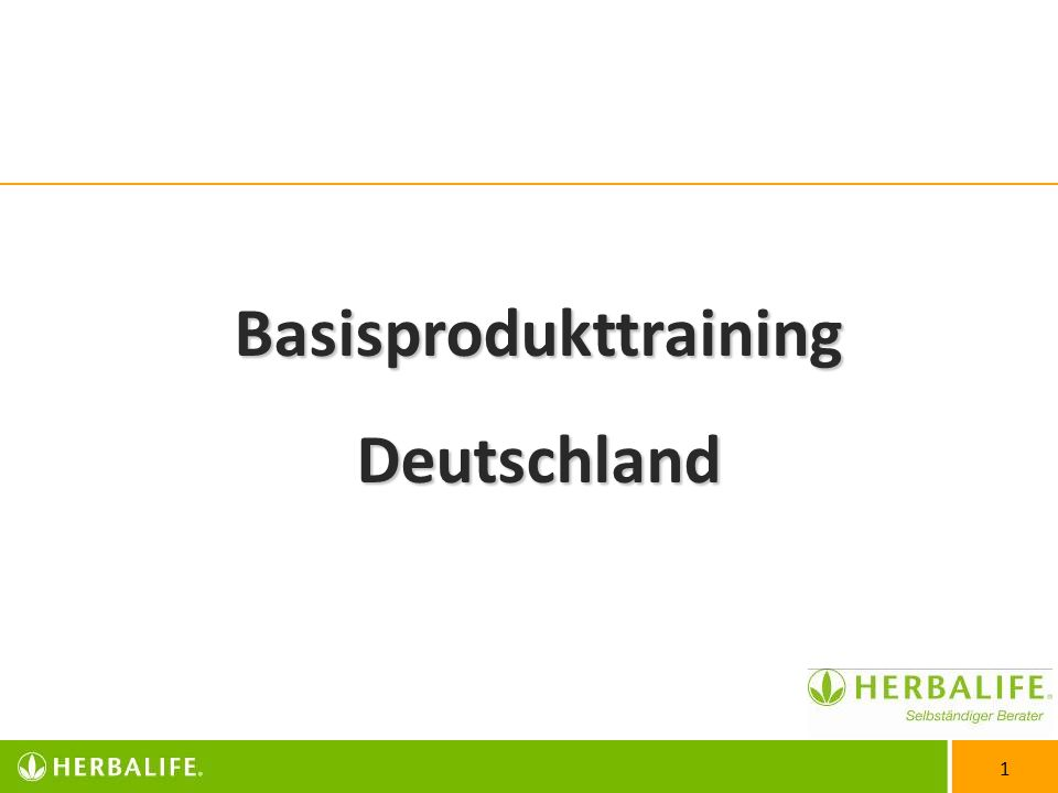 Basisprodukttraining
