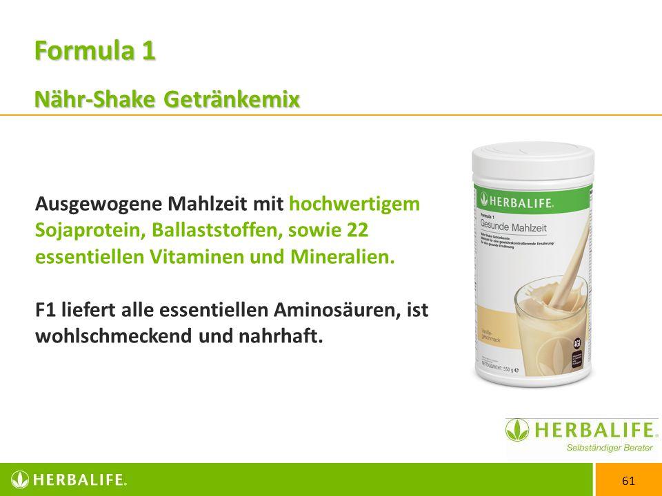 Formula 1 Nähr-Shake Getränkemix