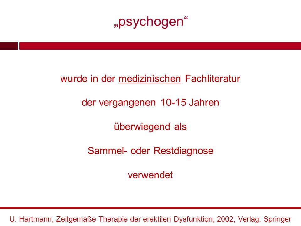 """""""psychogen wurde in der medizinischen Fachliteratur"""