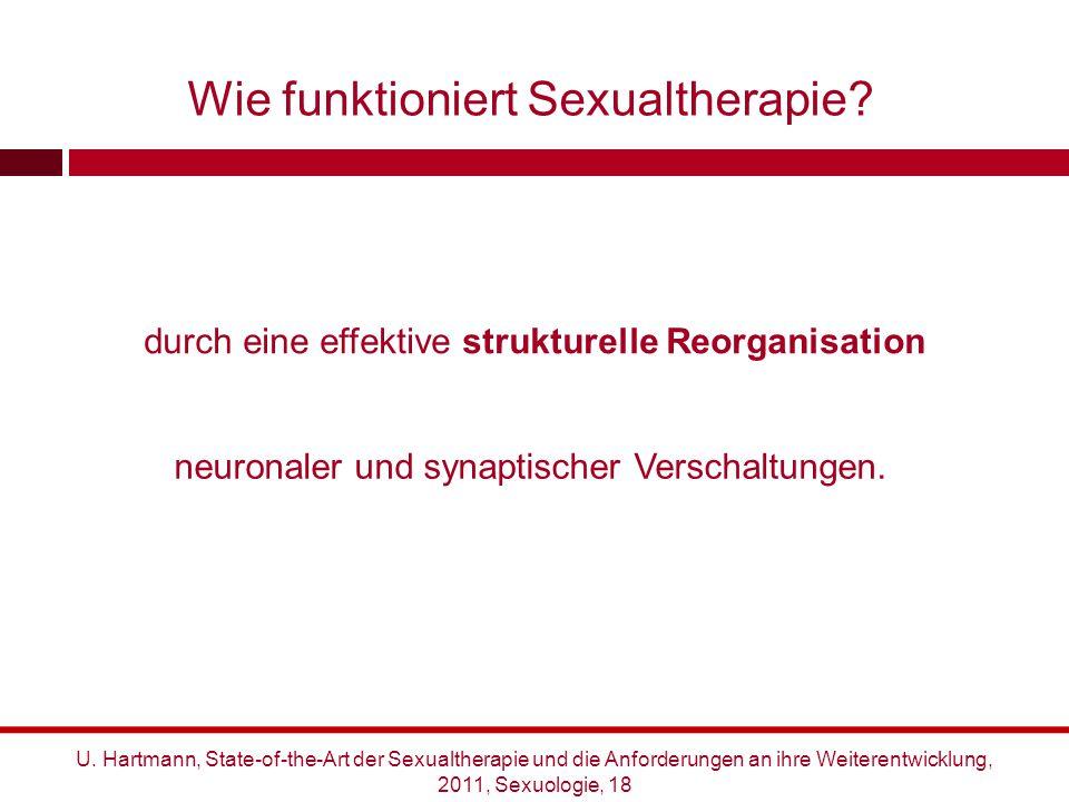 Wie funktioniert Sexualtherapie