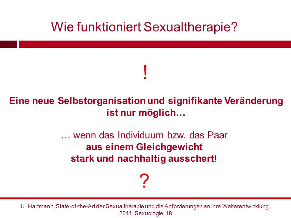 ! Wie funktioniert Sexualtherapie