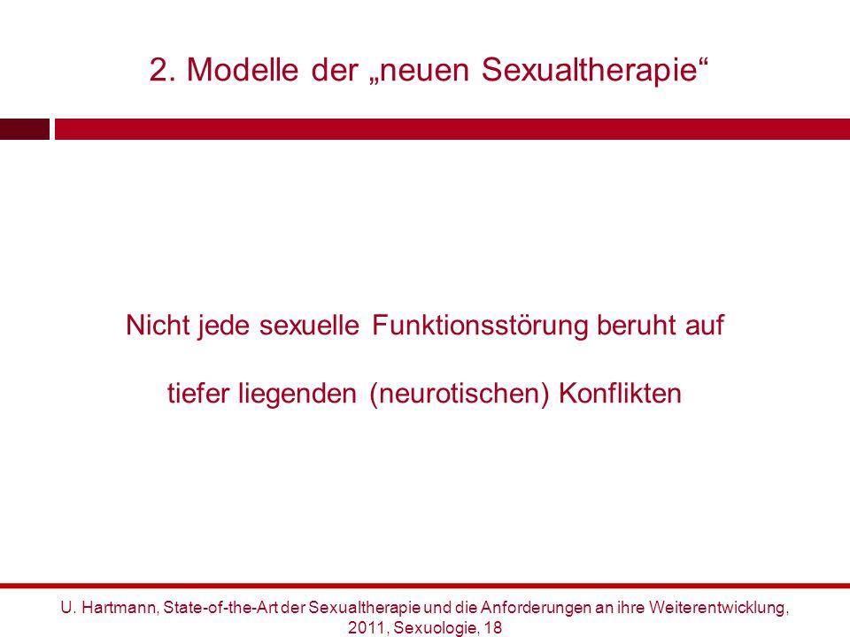 """2. Modelle der """"neuen Sexualtherapie"""