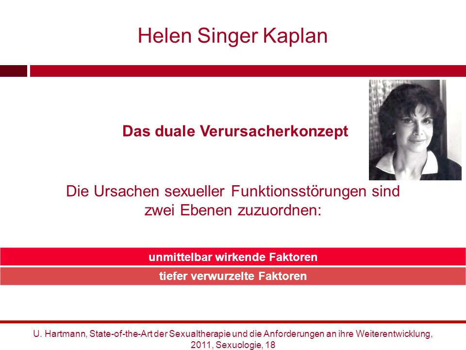 Helen Singer Kaplan Das duale Verursacherkonzept