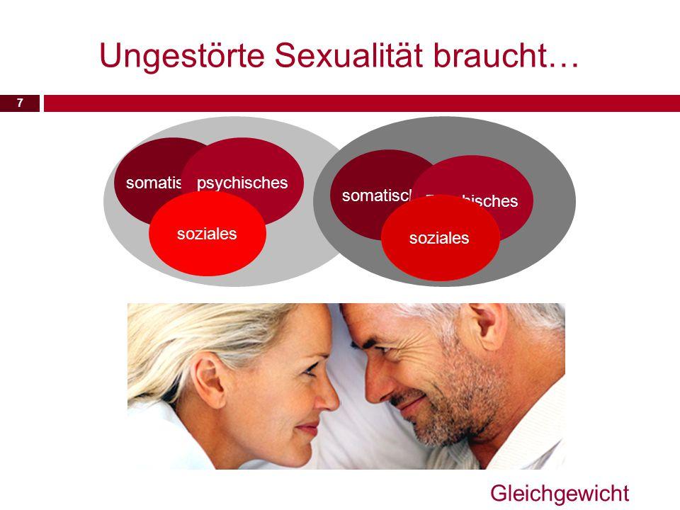 Ungestörte Sexualität braucht…