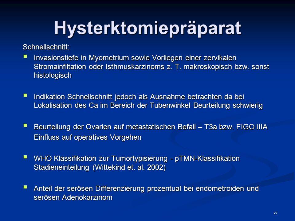 Hysterktomiepräparat