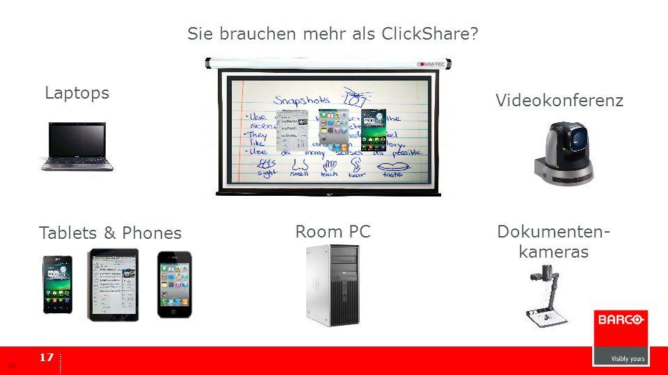 Sie brauchen mehr als ClickShare
