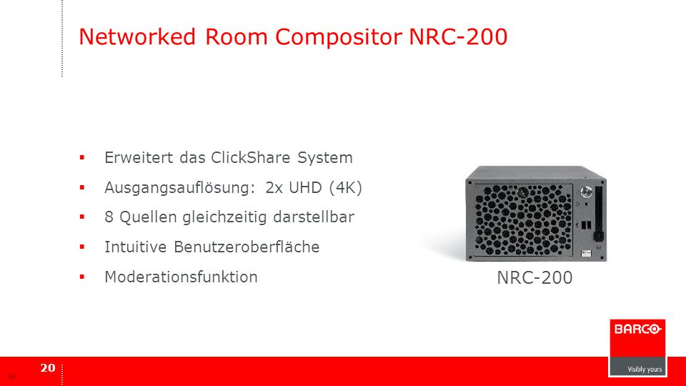 Networked Room Compositor NRC-200