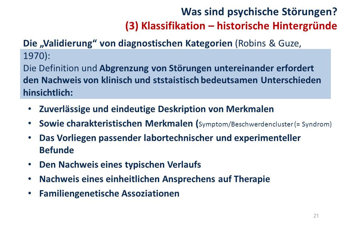 Was sind psychische Störungen