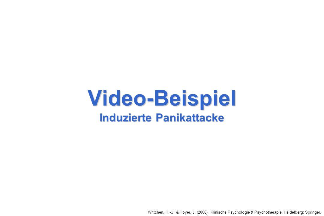 Video-Beispiel Induzierte Panikattacke