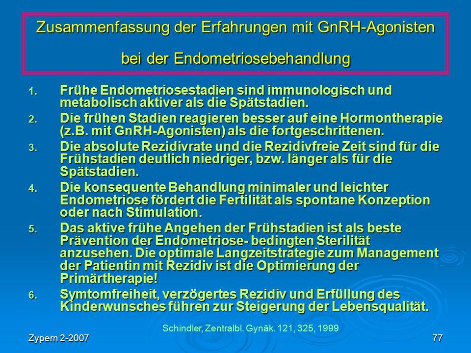 Schindler, Zentralbl. Gynäk. 121, 325, 1999