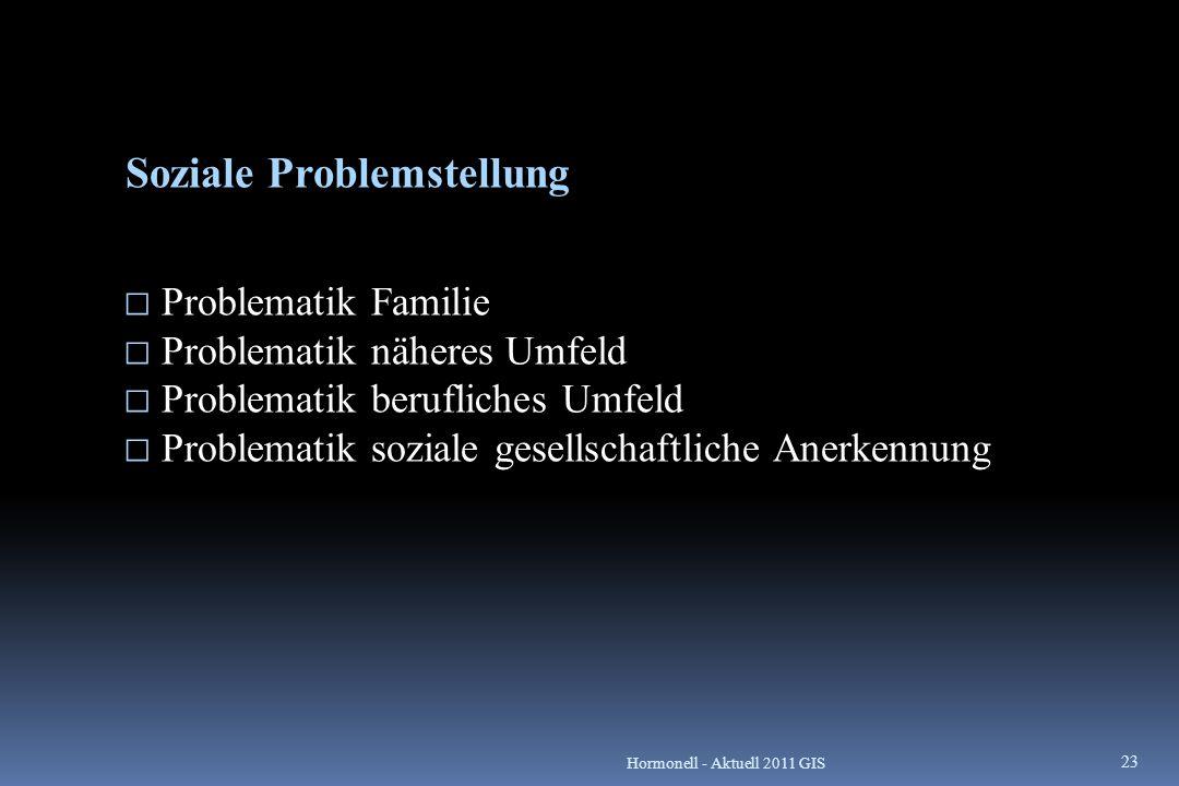 Soziale Problemstellung